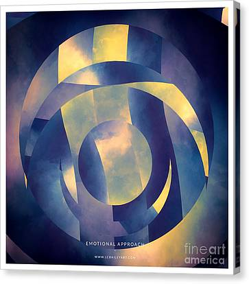 Emotional Approach Canvas Print by Lonnie Christopher