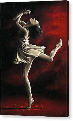 Emotional Awakening Canvas Print by Richard Young