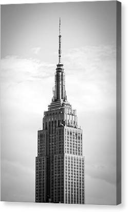 Empire State Canvas Print by Alexander Mendoza