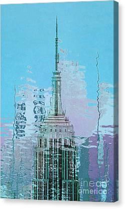 Empire State Building 1 Canvas Print by Az Jackson