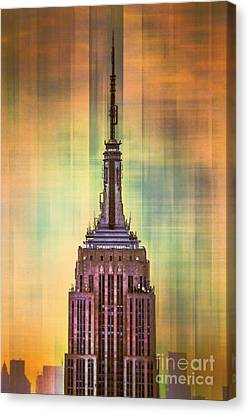 Empire State Building 3 Canvas Print by Az Jackson