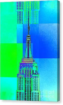 Empire State Building 5 Canvas Print by Az Jackson