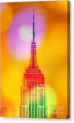 Empire State Building 6 Canvas Print by Az Jackson