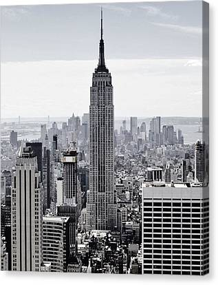 Empire State Canvas Print by CD Kirven