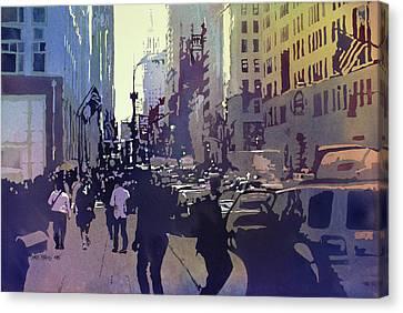 Empire State Canvas Print by Kris Parins