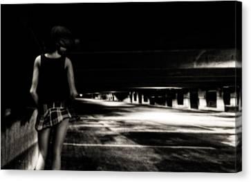 Empty Spaces Canvas Print by Bob Orsillo