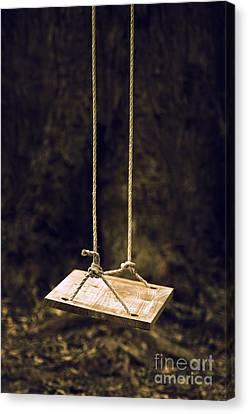 Empty Swing Canvas Print by Carlos Caetano