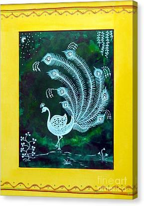 Enchanted Night II Canvas Print by Anjali Vaidya