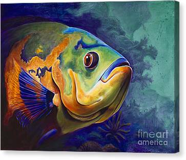 Enchanted Reef Canvas Print by Scott Spillman