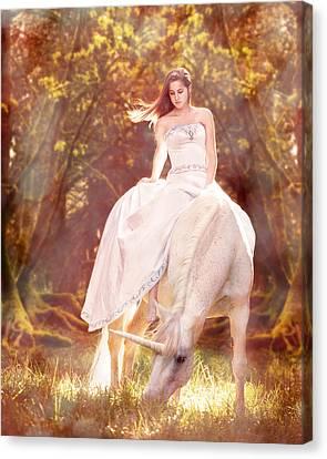 Enchanted Summer Canvas Print by Pamela Hagedoorn