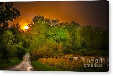 End Of Days Canvas Print by Ken Marsh