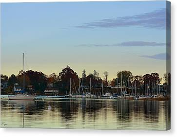 End Of Sail Canvas Print by Lourry Legarde