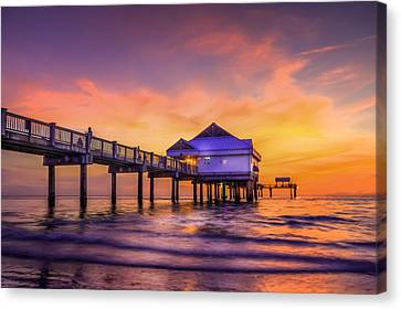 End Of The Day Canvas Print by Marvin Spates