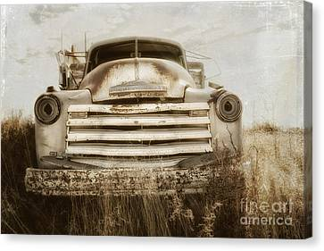 End Of The Road Canvas Print by Alison Sherrow
