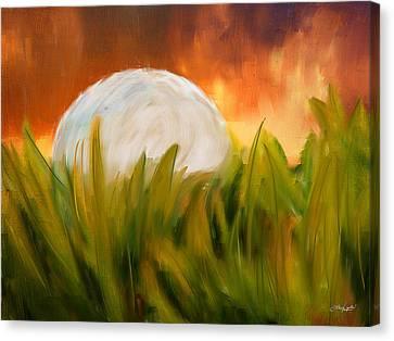 Endless Pursuit Canvas Print by Lourry Legarde