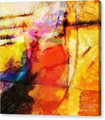 Energy Canvas Print by Lutz Baar