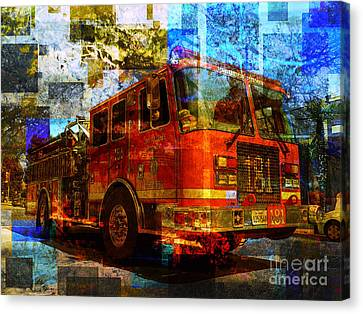 Engine 181 Canvas Print by Robert Ball