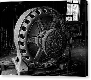 Engine Of A Mad Scientist Canvas Print by David Lee Thompson