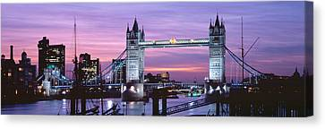 England, London, Tower Bridge Canvas Print by Panoramic Images