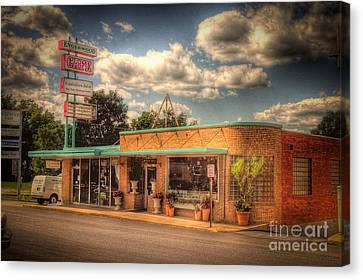 Englewoodcafe4536-4-5 Canvas Print by Timothy Bischoff
