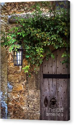 English Door Canvas Print by Jill Battaglia