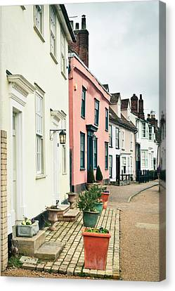 English Houses Canvas Print by Tom Gowanlock