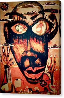 Enjoy Canvas Print by Rick Burgunder