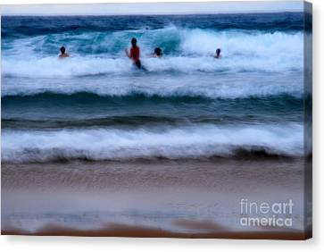 enjoy the ocean I Canvas Print by Hannes Cmarits