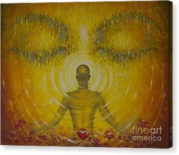 Enlightenment Canvas Print by Vrindavan Das