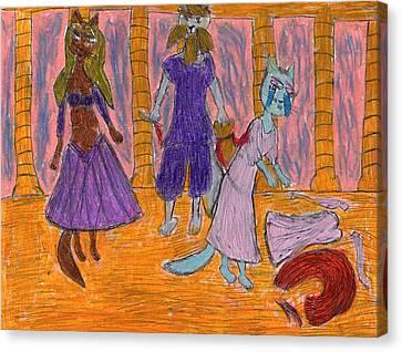 Enslaved Canvas Print by Frances Garry