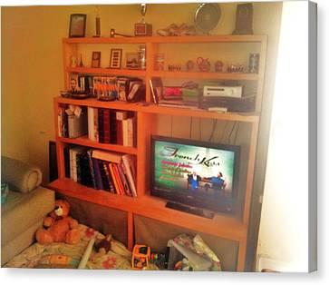 Entertainment Center Nis  Canvas Print by Unique Consignment
