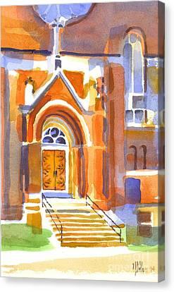 Entrance II Canvas Print by Kip DeVore