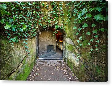 Entrance To A Winery Canvas Print by Francesco Emanuele Carucci