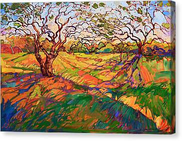 Entwined Canvas Print by Erin Hanson
