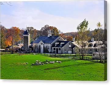 Erdenheim Farm In Whitemarsh Pa Canvas Print by Bill Cannon