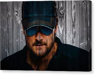 Eric Church Canvas Print by Dan Sproul