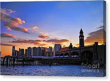 Erie Lackawanna Station Canvas Print by Paul Ward
