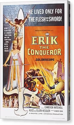 Erik The Conqueror, Us Poster Art Canvas Print by Everett
