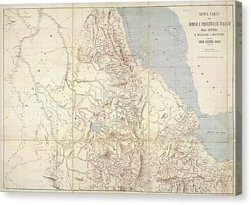 Eritrea Canvas Print by British Library