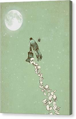 Escape Canvas Print by Eric Fan