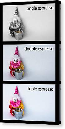 Espresso Choices Canvas Print by William Patrick