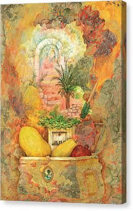 Esrog Canvas Print by Michoel Muchnik
