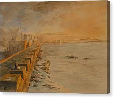Essaouira Morocco Canvas Print by Juan  Bosco
