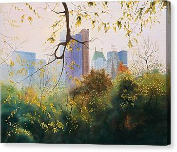 Essex House Canvas Print by Daniel Dayley