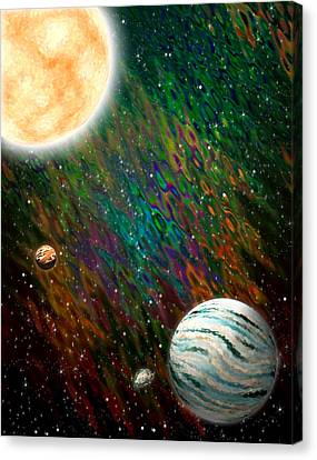 Etera Canvas Print by Piero Lucia
