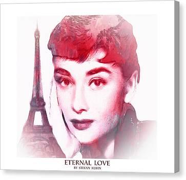 Eternal Love Canvas Print by Steve K
