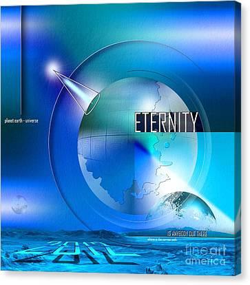 Eternity Canvas Print by Franziskus Pfleghart