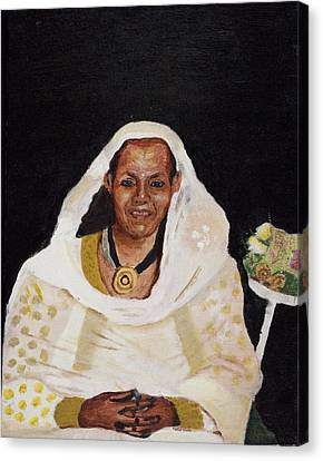 Ethiopian Woman Canvas Print by Jeremy Phelps