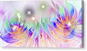 Euphoria Canvas Print by Anastasiya Malakhova