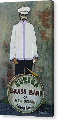 Eureka Brass Band Canvas Print by Dave Coleman
